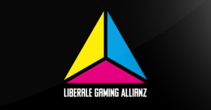 Webseiten-Banner der Liberalen Gaming Allianz